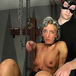 Double have sexual intercourse slave  a pleasant slave fearfully suffers her masters lash and two thick dicks. A good slave fearfully suffers her masters lash and two thick dicks