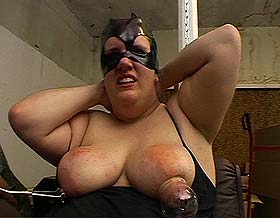 Bbw bondage2  dumb fatty gets tortured and abused. Dumb Fatty gets molested and abused