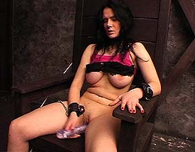 German bdsm scene  excited german slut is punish and humiliated. Excited German bitch is punish and humiliated