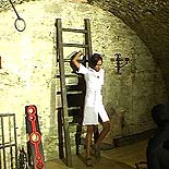 Humiliation of a slave  a charming ebony sub cannot escape her masters vicious desires. A good ebony sub cannot escape her masters vicious desires