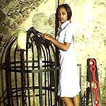 Servile ebony slave  meek sub is coerced into pleasing her overseer as she endures his abuse. Meek sub is coerced into pleasing her overseer as she endures his abuse